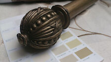 40mm Hardwick Wooden Handcrafted Curtain Poles - Various Finishes