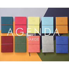 2015 Weekly Planner_Undated Agenda Diary Journal (L)_Classic Faux Leather Cover