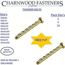 Thunderbolts Concrete screws Self tappers Floor frame fixings Masonry.