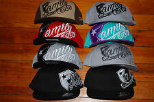 NEW Famous Stars and Straps Snapback & Fitted Family Hats, Several Designs!
