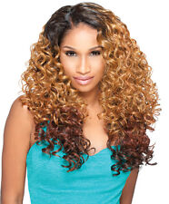 Sensationnel Empress Natural Synthetic L-Part Lace Front  Edge Wig ALEXIS