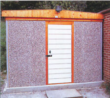 CONCRETE PENT WORKSHOP/SHED PRICED FOR FITTING IN LONDON
