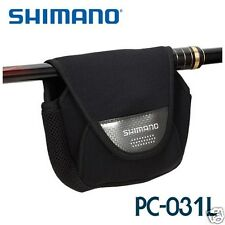 Shimano PC-031L PU form Fishing Spinning Reel gear Cover Storage pouch bag case