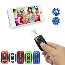 Rechargeable Selfie Shutter Remote Wireless Bluetooth Self-timer Zoom For Phone