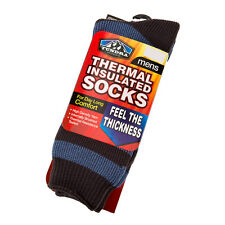 Men's Winter Thermal Insulated Socks by Tundra Outdoor, Size 7 - 12