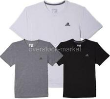 NEW MEN'S ADIDAS ULTIMATE TEE! CLIMALITE FABRIC ATHLETIC TRAINING SHIRT! VARIETY