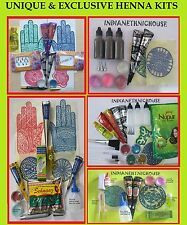 Henna kit For Body Art Temporary Tattoo event Fundraising Wedding Party Function