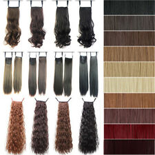 Hot selling Clip In Pony Tail Hair Extension Wrap Around Ponytail Hairpiece tb65