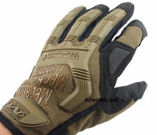 M-pact 55 Mechanix Wear Style Airsoft/Heavyduty/Sport Full Finger Gloves Tan