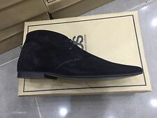 Original Branded - MENS BLACK SUEDE CHUKKA BOOTS - SHOES 5-13 RRP £70