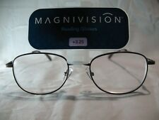 Magnivision Kent FDR Brown Mens Reading Glasses +1.75 2.25 2.75 3.25