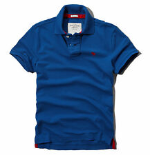Abercrombie & Fitch Men Hunters Pass Moose Pique Polo Shirt - Free $0 Shipping