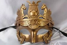 Silver Gold Masquerade Mask Men boys Roman Gladiator Thor Costume Prom Party