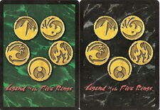 Various L5R Cards - Mixed Editions - Pick from a list Legend of Five Rings