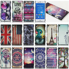 Fashion Painted Hybrid Hard Cute Cover Case For Sony Xperia Z1 Z2 Z3 C3 T3 Etc.
