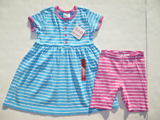 Hanna Andersson 100 110 120 Girls Dresses Shorts SET NEW Playdress outfits 6 7 8