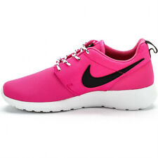 Youth / Womens Nike Roshe Run Sneakers New, Pink Breast Cancer Month 599729-600