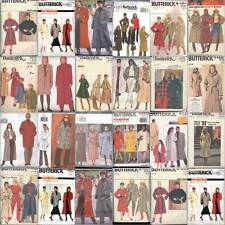 Butterick Sewing Pattern Misses Coats Winter Outerwear  You Pick