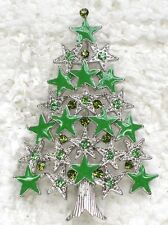 12 Pcs / one dozen of The of Christmas tree Brooch wholesale  C101550