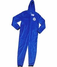 Official Chelsea United Football All In One Onesie Kids Adult Mens Girls Boys