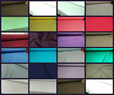 Plain Viscose Jersey Stretch Lycra Fabric Cotton Material 29 COLOURS