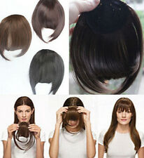 Clip In Front Hair Bang Fringe Hair Extension Straight women 3 COLOR FASHION