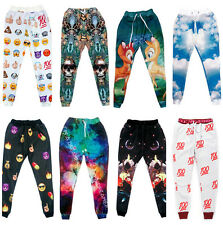 Boy Girl 3D EMOJI Space Galaxy Animal Dog Autumn Winter Jogger Sport Dance Pants