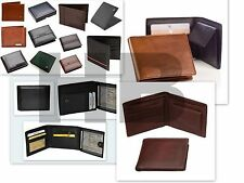WHOLESALE JOB LOT ,MENS GENUINE LEATHER ,WALLET,PURSE,CARD HOLDER /BLACK/BROWN