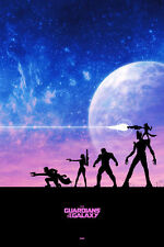 Guardians Of The Galaxy Art Print/Poster Movie Film 1
