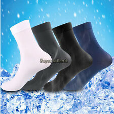 Practical Fall Man's 10 Pairs Short Bamboo Fiber Socks Stockings Middle Socks