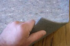 Non Skid Area Rug Pad-Multiple Sizes-Durable Reversible for Hard Surfaces/Carpet