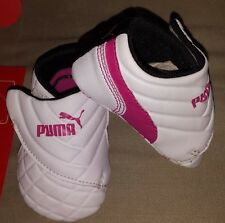 PUMA INFANT DRIFT CAT 6 LIL'WRAP CRIB SHOES SUEDE OR LEATHERBOY'S OR GIRL'S NIP