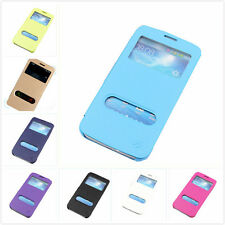 New Leather S-View Slim Flip Smart Cover Case for Samsung Galaxy Note 2 II N7100