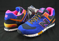 New Balance ML574BO 90's Outdoor Blue Orange Pink Black Men's Classic Sneaker