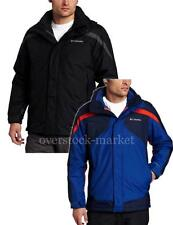 MEN'S COLUMBIA EAGER AIR 3-IN-1 SYSTEMS JACKET FLEECE LINED! OMNI-SHIELD VARIETY