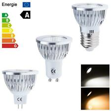 Ultra Bright MR16 GU10 E27 Dimmable COB LED Spots Light Globe Bulb Pure 6W 9W 12