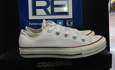 Converse White Ox. Uk 3-7 Available. Only £45.00