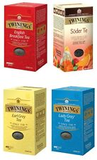 TWININGS of LONDON Loose Tea 200 g ( 7.00 oz ) / Pack 4 Flavors Many Options