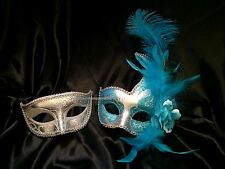 Pair Masquerade mask for date man and woman Couple Christmas New Year Eve Party