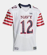 """Navy Midshipmen """"Don't Tread On Me"""" Under Armour Special Event Football Jersey"""