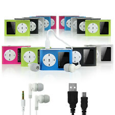 4GB MP3 Player With LCD Display,FM Radio+USB Charge Cable + Earphone+Aux Cable