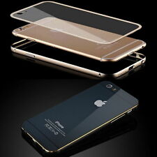 Metal Aluminum Bumper Hard Case Cover Housing Protector fr iPhone 5 SE 6 6S Plus