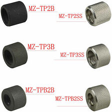 """.223/.308 Black Oxide/Stainless Steel Finish Thread Protector, 1/2""""x28 & 5/8""""x24"""