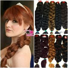 Women Fashion High Quality Hair Extensions Piece Twisted Braid Pigtail Ponytails