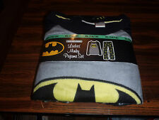 Batman DC COMICS ADULT TWO-PIECE PAJAMAS  SET NEW ITEM
