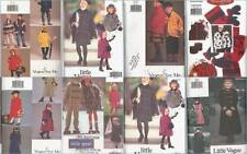 Vogue Sewing Pattern Childrens Outerwear Winter Coats Capes Girls Boys U PICK