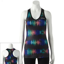 FILA SPORT® Printed Racerback Performance  Women's Tank - Assorted Color