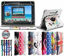 360° UNIVERSAL LEATHER STAND CASE COVER FOR 7 Inch Tablet PC - Android APAD Tab