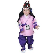 Boy Hanbok Luxury Tuxedo Korea traditional Wedding Dress Kids Baby Party 2020