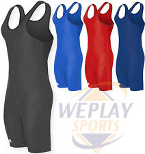 NEW Adidas aS101s Solid Color Wrestling Singlet, Youth Boys & Adult Men's Sizes